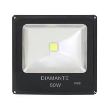 Refletor LED 50W Luz Amarela Bivolt Diamante