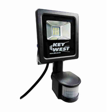 Refletor LED com Sensor 10W Luz Branca Bivolt KeyWest