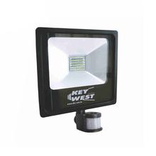 Refletor LED com Sensor 50W Luz Branca Bivolt KeyWest