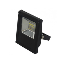 Refletor LED Slim Blumenau 10W Luz Verde Bivolt