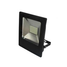 Refletor LED Slim Blumenau 50W Luz Amarela Bivolt