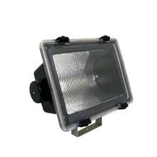 Refletor Levilux Retangular Plástico Preto E27 Bivolt