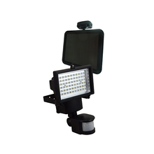 Refletor Solar LED Ecoforce Retangular Metal Preto