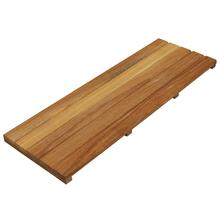 Régua de Deck de Madeira Ipê / Champanhe 100x35cm Keywoods