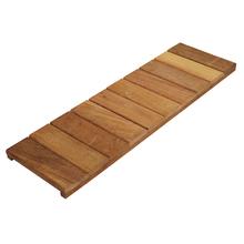 Régua de Deck de Madeira Ipê / Champanhe 30x100cm Keywoods