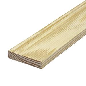 Régua de Deck de Madeira Pinus 600 300x9,5cm Madvei