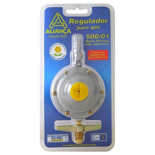 Registro para botij o de g s 2kg h de aperto alian a for Regulador de gas butano leroy merlin