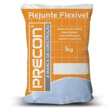 Rejunte Cerâmico Cimentício 1kg Branco Precon