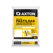 Rejunte Cimentício  Cinza Platina 4Kg Axton