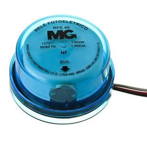 Rele fotoeletronico, RFE-40,1000W- 127V,Conexão por cabos, MarGirius