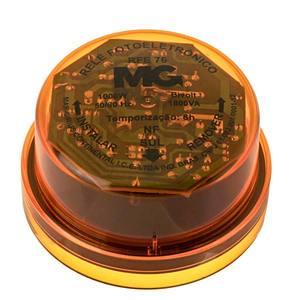 Rele fotoeletronico, RFE-76,1000W- Bivolt,Temporizado para 6Horas,Conector padrão, MarGirius