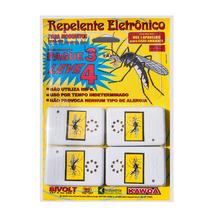 Repelente Eletrônico Mosquitos Leve 4 Pague 3 Bivolt Kawoa