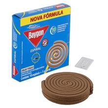 Repelente Espiral Anti Mosquito 10 unidades Baygon