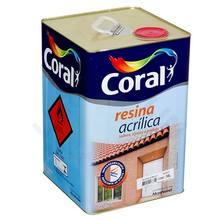 Resina Acrílica 18L Incolor - Coral