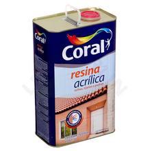 Resina Acrílica 5L Incolor - Coral