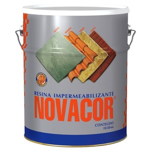 Resina Acrílica Impermeabilizante Novacor Brilhante Colorgin 18L Incolor