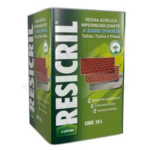 Resina Acrílica Resicril 18L Incolor Hydronorth