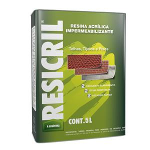 Resina Acrílica Resicril 5L Incolor Hydronorth