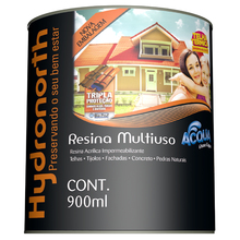 Resina Brilhante Acqua Caramelo 900ml Hydronorth