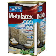 Resina Brilhante Metalatex Eco 18L Sherwin Williams