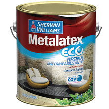 Resina Brilhante Metalatex Eco 3,6L Sherwin Williams