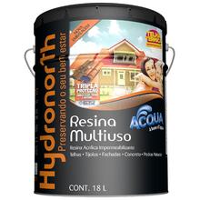 Resina Brilhante Multiuso Acqua Caramelo 18L Hydronorth