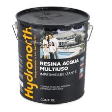 Resina Brilhante Multiuso Acqua Incolor 18L Hydronorth
