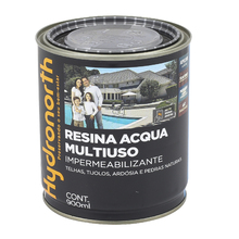 Resina Brilhante Multiuso Acqua Incolor 900ml Hydronorth