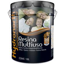 Resina Brilhante Super Multiuso Incolor 18L Hydronorth