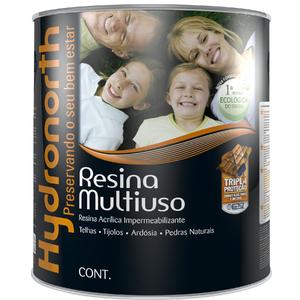 Resina Fosco Incolor 900ml Hydronorth