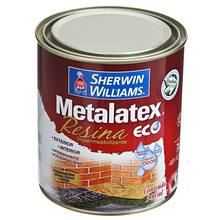RESINA IMPERMEABILIZANTE METALATEX ECO BASE D/AGUA BRILHANTE SHERWIN WILLIAMS 0,9L INCOLOR