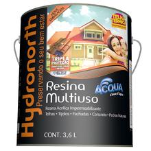 Resina Multiuso Acqua Incolor 3,6L Brilhante Hydronorth