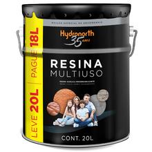 Resina Multiuso Incolor 20L Hydronorth