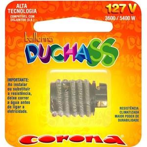 Resistência Ballerina para Ducha 127v 5400w Corona