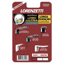 Resistência para Chuveiros Acqua Storm e Acqua Star 6800W 220V Lorenzetti