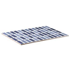 Revestimento 37 x 27 cm Bold Monoporosa Geométrico Azul PEI 0 caixa 1,58m2 20,77 kg Porto Ferreira