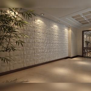 Revestimento 3d para parede de poliestireno lampedusa for Placas pvc para paredes
