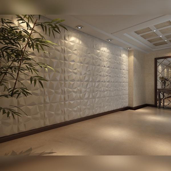 Revestimento 3d para parede de poliestireno lampedusa - Revestimiento de paredes leroy merlin ...