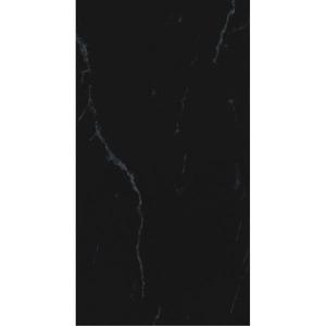 Revestimento 58,00 Cm 31,00 Cm Retificado Monoporosa Acetinado Nero Marquina Pei0 Caixa 1,40M2 23,70 Kg Viarosa