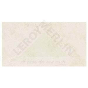 Revestimento Acetinado Retificado Marmorizado Rapolano BR Lisa Branco Rapolano  33,8x64,3 Ceusa