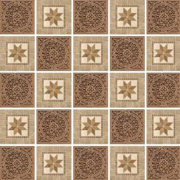 kit de adesivos azulejo marrom 15x15cm 24 pe as inspire