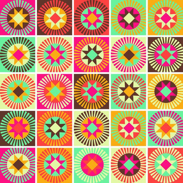 Kit de adesivos ladrilhos colorido 15x15cm 24 pe as for Leroy merlin mosaico decorativo