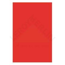 Revestimento Brilhante Bold Liso Basic Red 34x50cm Romero Britto Pamesa