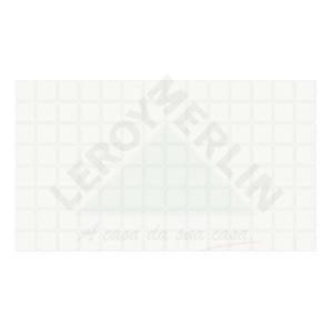 Revestimento Brilhante Bold Texturizado Brisa White 32X56cm Séries Brasileiras Embramaco