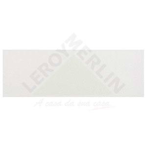 Revestimento Brilhante Bold Decorado Capua Cristal  Branco 20x60cm  Pamesa