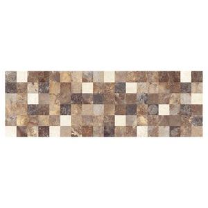 Revestimento Brilhante Bold Decorado Hd Fossil Areia 20x60cm Pamesa