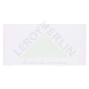 Revestimento Brilhante Bold Texturizado Vision White Branco 33,3x67,1cm Vision Cecrisa