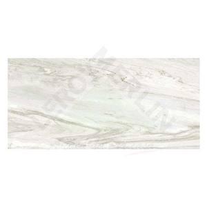 Revestimento Brilhante Retificado Marmorizado HD Palis Lisa Cinza Palis 43,2x91 Ceusa