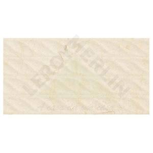 Revestimento Brilhante Retificado Marmorizado Lacome Vela Bege Lacome  33,8x64,3 Ceusa