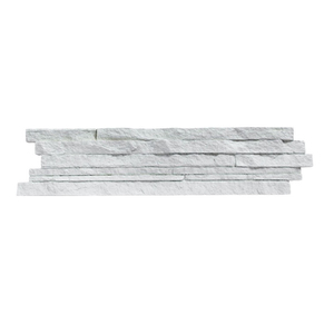 Revestimento Cimentício Filete Branco 12x54cm 4MMD